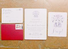 italian wedding invites