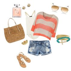 cute summer outfit, created by ambryant on Polyvore