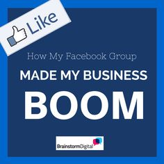 How my Facebook group made my business boom. Great case study - can your business follow the same model?