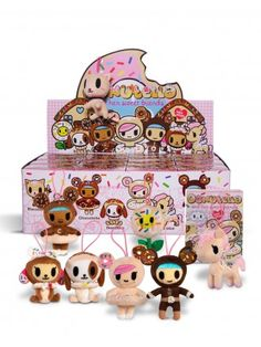 Donutella and Her Sweet Friends Blind Box Mini Plush Collectible