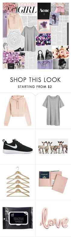 """""""oh i wish i could be more like you ♡"""" by xo-nichole ❤ liked on Polyvore featuring Murphy, Off-White, H&M, NIKE, WALL, Chanel, Royce Leather, e.l.f., KEEP ME and Margaritaville"""