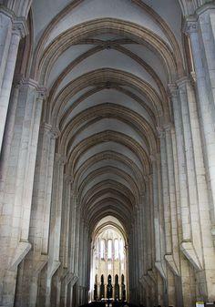 Arch at #Alcobaça #Monastery #Portugal