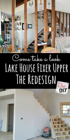 Lake House Fixer Upper Update! Let's talk about the redesign of the appeal when you walk in the door. Come see what's been…
