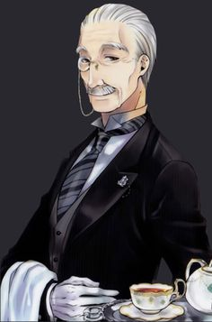 Black Butler ~~ The one and only Tanaka :: Does anyone know his given name?