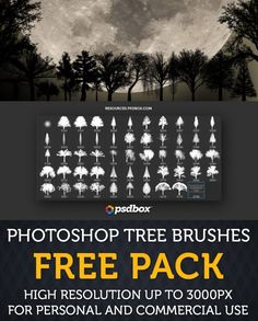Free photoshop brushes pack for personal and commercial projects