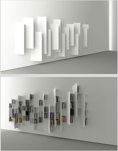 a different idea of a bookcase