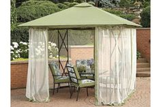 - Description - Netting Fits Model # SC-J-250GZ Insect netting for the Jaclyn Smith Elmhurst Gazebo manufactured by Numark Industries, and sold in Kmart store with a retailer/store SKU 028W26396611000