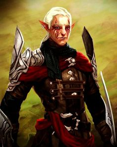 Crow Assassin Zevran - Promotional art for Heroes of Dragon Age.