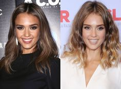 Jessica Alba has returned to her ombré 'do, and she looks absolutely ah-mazing!