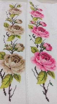 Cross Stitch Tree, Cross Stitch Borders, Cross Stitch Flowers, Modern Cross Stitch, Herb Embroidery, Cross Stitch Embroidery, Embroidery Patterns, Funny Cross Stitch Patterns, Cross Stitch Designs