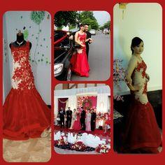 Engagement party..my lovely cust.congratulation  FrenS Salon en Bridal jl Anggrek Raya BX 16 Solo Baru Jawa Tengah  Indonesia