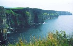 Cliffs of Moher on the west coast of Ireland.