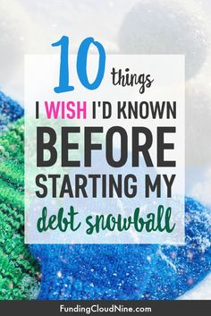 10 Things I Wish I'd Known Before Starting the Debt Snowball Method Thinking about paying off debt with the Debt Snowball Method? Check out this list of 10 things I wish I'd known before starting my debt snowball. Debt Repayment, Debt Payoff, Debt Consolidation, Financial Peace, Financial Tips, Financial Planning, Financial Quotes, Budgeting Finances, Budgeting Tips