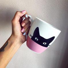 💗🖤💗#catlover