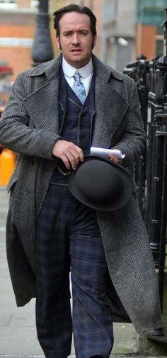 "Matthew Macfadyen as DI Edmund Reid in ""Ripper Street"" starts Jan 19, 2013. I am looking forward to it"
