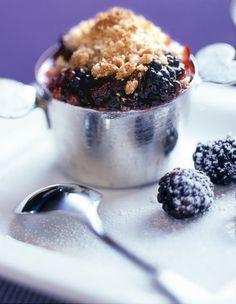 Blackberry Nectarine Crisp