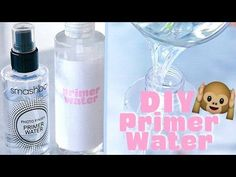 Make Your Own Smashbox Primer Water!?! ♥ Back to School DIY - YouTube