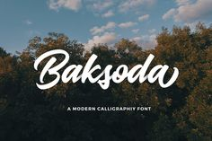Baksoda by Wacaksara Co. on @creativemarket