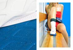 Collaboration avec LACOSTE - projet réalisé avec Simon Jean -   + Laboratoire prospectif surface, matière et graphisme + Broderies électroniques  + Repenser, réhabiliter l'icône maroquinerie de la marque sportswear / luxe:  Le L.12.12    LAC...