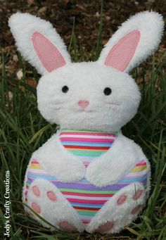 Free Tutorial: Easter Bunny Softie