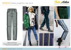 Discover the new Fall Winter 2018-19 DENIM Development Designs by 5forecaStore Fashion Trends forecasting.