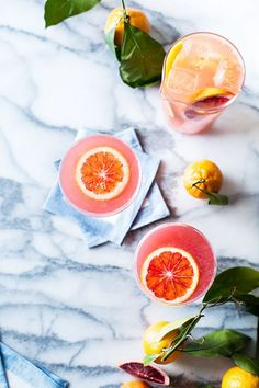 Sparkling Citrus,  Lillet, and Prosecco Punch