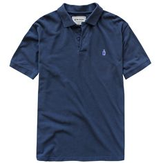 CLASSIC 90 PROOF POLO - NAVY