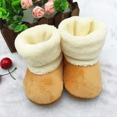 Newborn Baby Girls Soft Crib Soled Winter Snow Boots Shoes #>=#>=#>=#>=#> Click on the pin to check out discount price, color, size, shipping, etc. Save and like it!