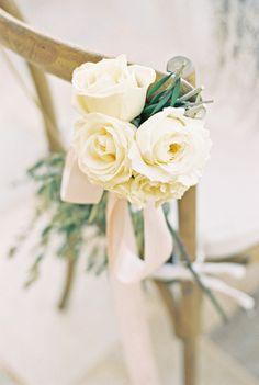 Ivory roses: http://www.stylemepretty.com/little-black-book-blog/2014/10/31/intimate-sunstone-villa-wedding/   Photography: Khanh Hogland - http://khanhhogland.com/