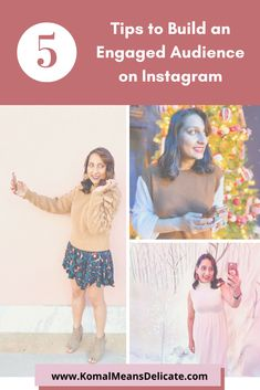 Blogging tips, building an engaged audience, Instagram engagement #BloggingTips #InstagramEngagement #InstagramHashtags