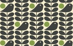 Ideas For Wall Paper Pattern Vintage Orla Kiely Pattern Paper, Pattern Art, Fabric Patterns, Print Patterns, Graphic Patterns, Vintage Patterns, Orla Kiely Fabric, Critique D'art, Surface Pattern Design