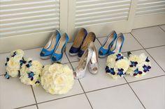 #blue #shoes #wedding