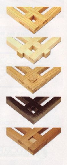 No-Miter Picture Frames Woodworking Plan by Ralph Bagnall #woodworking