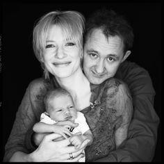 Cate Blanchett, Andrew Upton et leur premier fils Dashiell John