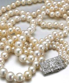 Collier perles naturelles Cartier