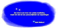 Wil je de hele blog lezen: http://www.karinwalda.nl/blogs/de-nieuwetijdskinderen-de-stempeltjescultuur