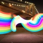 Light Painting Evolved: Introducing the Pixelstick - they have a working prototype and a Kickstarter campaign going http://www.thisiscolossal.com/2013/10/light-painting-evolved-introducing-the-pixel-stick/