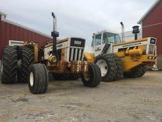 Minneapolis - Moline's G1050 Turbo & A4T - 1600 Turbo Big Tractors, Vintage Tractors, Vintage Farm, Minneapolis Moline, Farm Day, Farm Tools, Classic Tractor, Farm Life, Farming