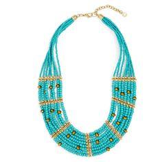 BaubleBar Briya Necklace ($38) ❤ liked on Polyvore featuring jewelry, necklaces, boho chic jewelry, boho jewellery, boho style jewelry, bohemian necklaces and boho necklace