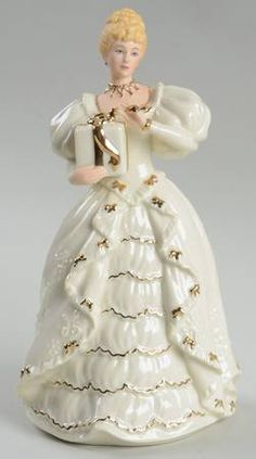 Lenox Classic Ivory Christmas Figurines at Replacements, Ltd