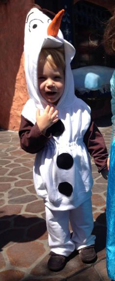 Olaf toddler costume hoodie child frozen snowman An adorable outfit for my lil Riley~Bug