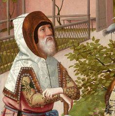 Attributed to Geertgen tot Sint Jans (ca. The Tree of Jesse, c. 1500 (detail) oil on panel, h × w Museum Boijmans Van Beuningen, Rotterdam Tree Of Jesse, Medieval Manuscript, Rotterdam, Renaissance, Dutch, Mona Lisa, Museum, Van, Detail