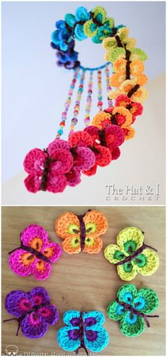 I have made a big list of most beautiful, adorable and stylish #crochet #Butterflies #patterns.All of these super unique and creative!Bountiful Butterflies