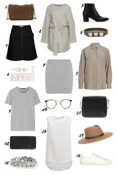 Brown, Grey and Neutral Pre Fall Favorites. More is up on thedashingrider.com