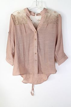MaryAnne Shirt in Mocha on Emma Stine Limited
