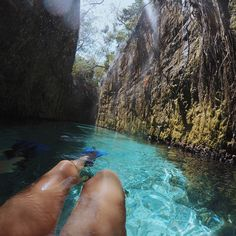 PEACEFUL  • Surreal, né? #Cancunchallenge #gopro #TravelBrilliantly #XcaretPark