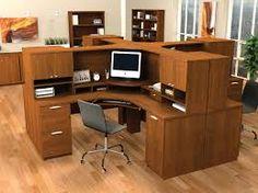 Resultado de imagen para desk in corner of room custom made