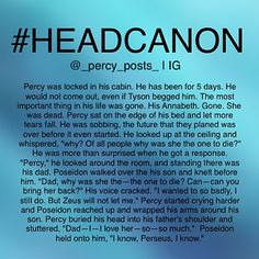 - {My edit give credit} - - okay so this is another random #Headcanon I thought of! If you repost please give credit - All of myheadcanons are here ➡️ #Percypostsheadcanons please don't uses this hashtag - I cannot tag anyone anymore because we had way too many I'm so sorry I hope you can understand. but you can check our account to see if we posted. I will post something a couple hours later saying I posted some headcanons just in case you missed - #Percy #PercyJackson #PJATO ...