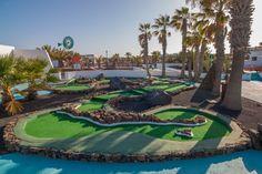 "Nautilus Lanzarote wears new colors ""Mini Golf """