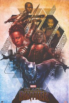 Black Panther cartoon special edition fan made movie poster! Click to purchase for only $11.99 :)